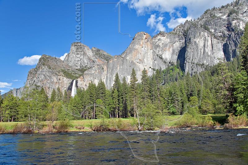 Valley View - Bridalveil Fall,<br /> Yosemite National Park, 2011