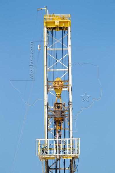 Nabors Rig F13,  Drilling Eagle Ford Shale Well<br /> Keach Gas Unit No. 2<br /> near Nordheim, TX
