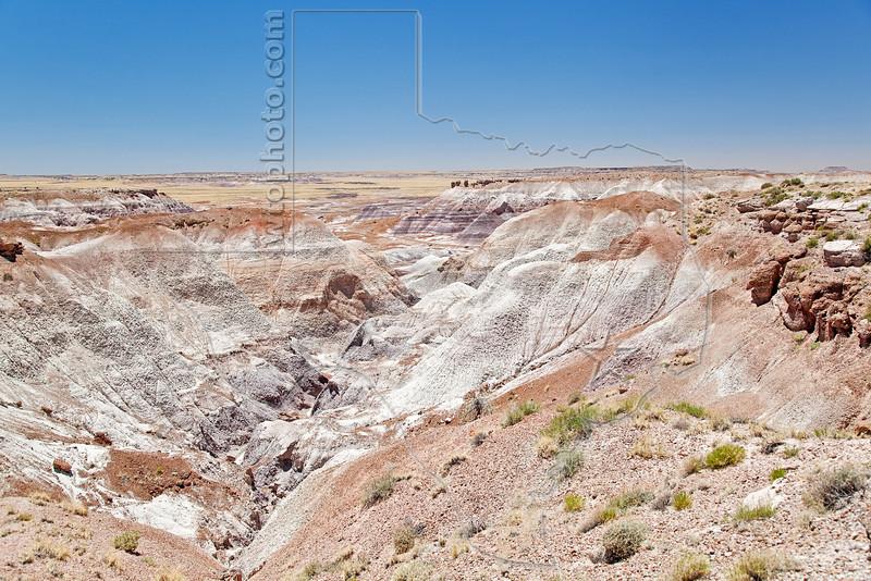 Painted Desert Badlands,<br /> Petrified Forest National Park