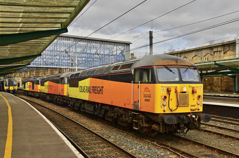 COLAS RAIL FREIGHT CONVOY