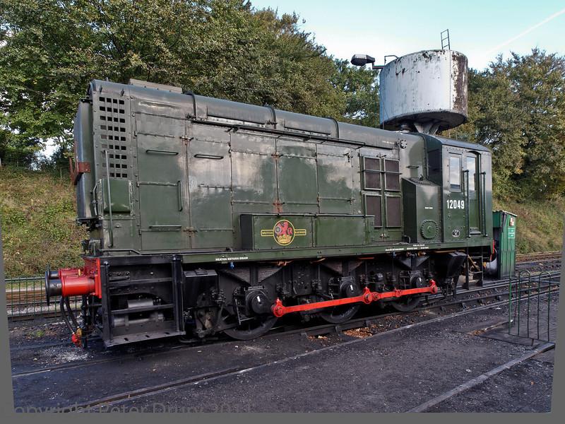 22 Oct 2011 LMS Class 11 Diesel No 12089.