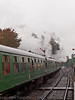 30 Oct 2011 850 Lord Nelson and 45379 set off to attack Medstead Bank and the highest point on the line amidst great volumes of steam and smoke.