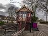 Tenterden Town signal box.