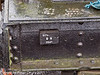 26 January 2011. Ropley:- SR Brake Van.  Copyright Peter Drury 2011<br /> Builders plate.