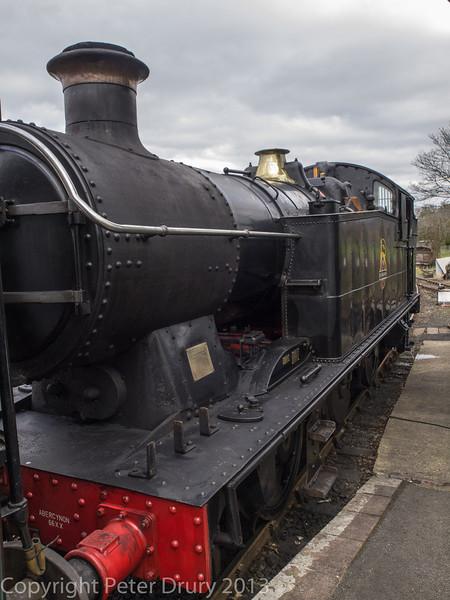Class 66XX No 6619 at Tenterden Town station.