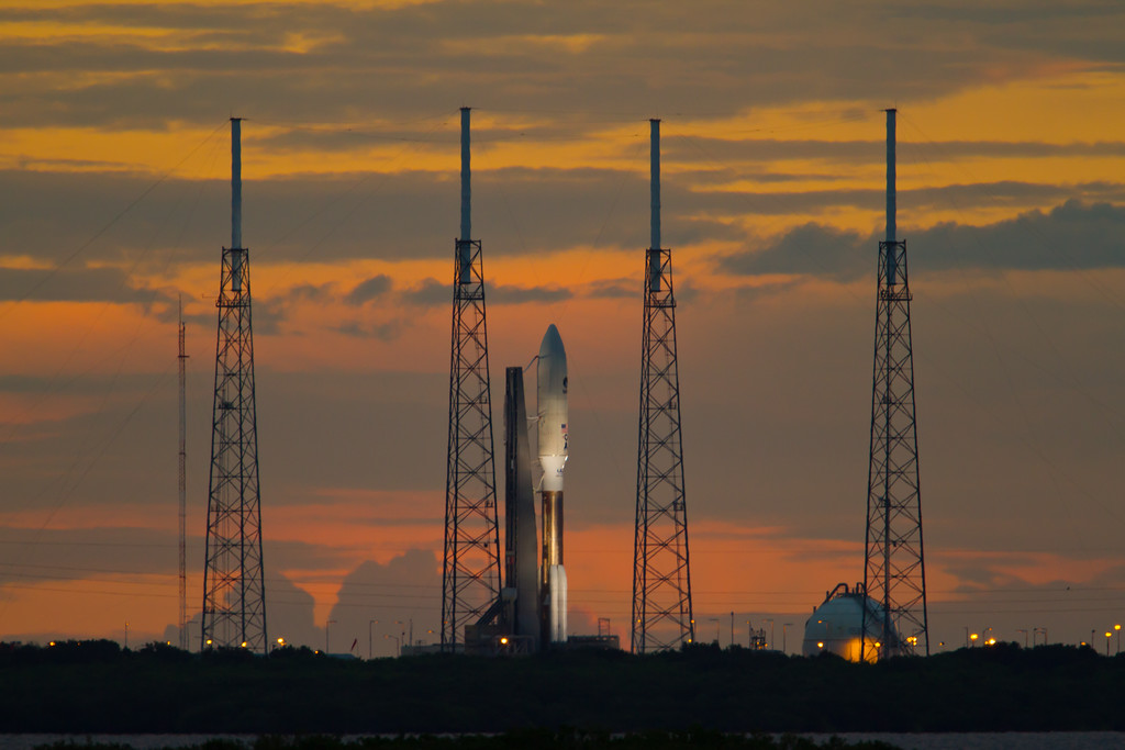 Atlas V on CX-41 ready for launch