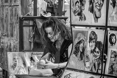 Street Artist, Times Square