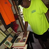 Staff photo by Cathy Spaulding<br /> Terry Scott looks over pictures from past Muskogee Juneteenth celebrations. This year's Juneteenth celebration in Muskogee will be on Sunday afternoon at Elliott Park.
