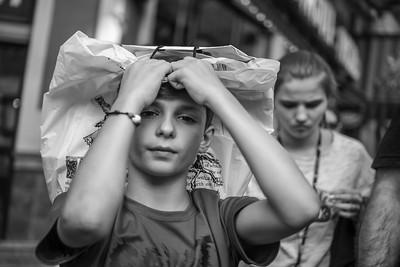 Boy with Bag, 42nd Street