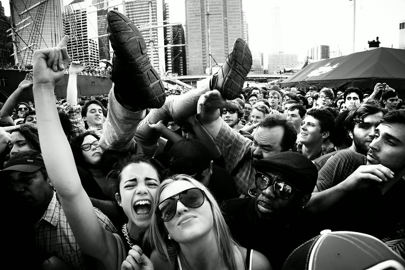 Crowd - 4 Knots Festival - July 12th, 2014