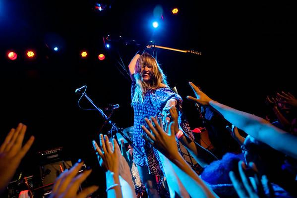 Lauren Larson of Ume - Bowery Ballroom, NYC - July 17th, 2014