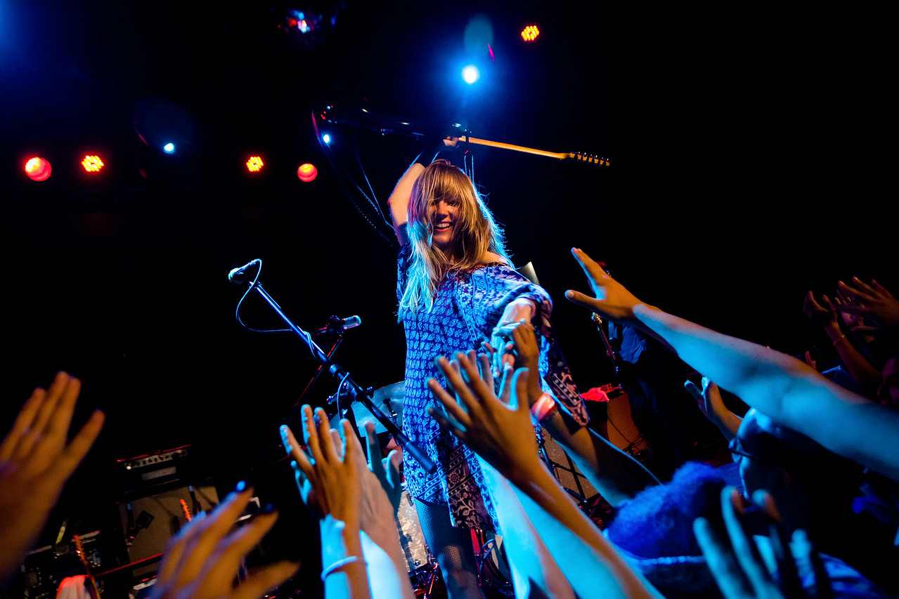 Lauren Larson of Ume - Bowery Ballroom, NYC - July 17th, 2014