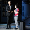 "Staff photo by Harrison Grimwood<br /> Gomez Addams, played by Jackson Weaver, has a<br /> discussion about love and romance with his daughter Wednesday Addams, played by Alexandria McBrien, while they try to cope with Wednesday Addams' ""normal"" boyfriend during a Tuesday afternoon (See addams, 2A) play rehearsal."