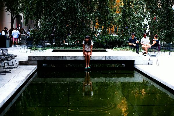Shana Cleveland of La Luz - MOMA, NYC - July 31st, 2014