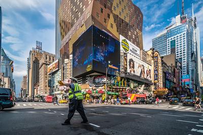 Traffic Cop, West 42nd Street
