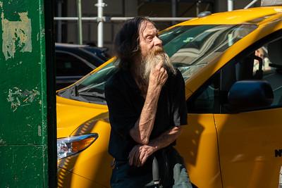 Old Man, Eighth Avenue
