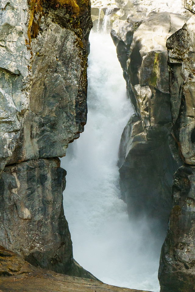 Nairn Falls near Pemberton, British Columbia.