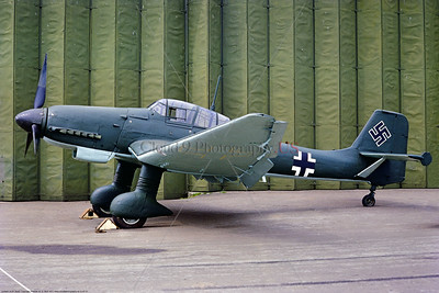 """Ju-87 001 A static Junkers Ju-87 Luftwaffe German WWII dive bomber """"Siren of Death"""" RAF Museum military airplane picture by Stphen W  D  Wofl     853_4077     DoneWT"""