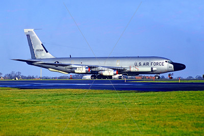 RC-135D-USAF 001 A static Boeing RC-135D Stratolifter USAF 00356 Mildenhall 12-1971, military airplane picture by Stephen W  D  Wolf     11A_0607     DoneWT