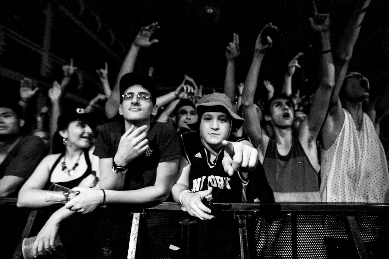 Crowd for Juicy J - Terminal 5, NYC - July 22nd, 2014