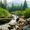 Lizzie Creek near Pemberton, British Columbia.