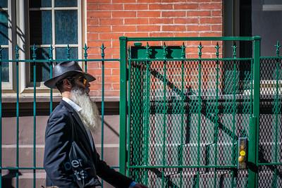 Man with Beard, West 44th Street