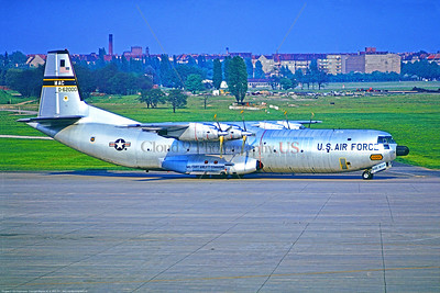 C-133 007 A Douglas C-133 Cargomaster USAF heavy lifter cargo aircraft 82000 436 MAW taxis at Berlin 5-1971 military airplane picture by Stephen W  D  Wolf     11A_2385     DoneWT