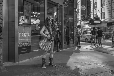 The Naked Cowgirl, Times Square