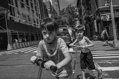 Boys on Scooters, Eleventh Avenue