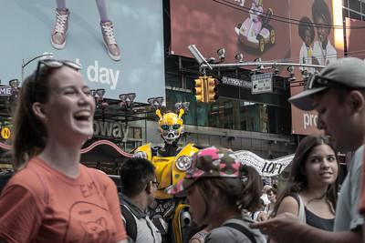 Alien, Times Square