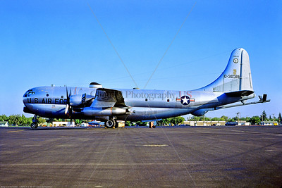 KC-97ANG-TN 001 A static Boeing KC-97L Stratofreighter Tennessee ANG Buckley ANGB 9-1974 military airplane picture by Stephen W  D  Wolf     BBB_3665     DWT