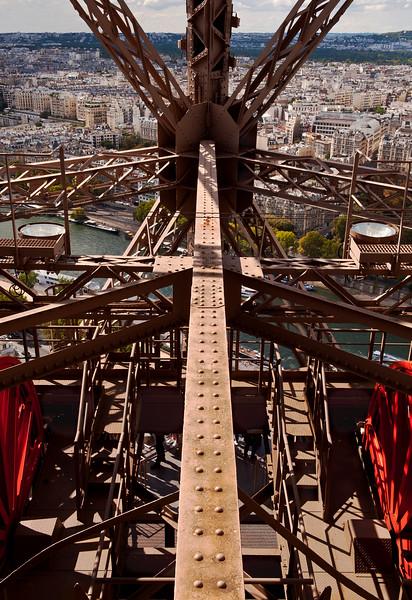 Inside The Eiffel Tower