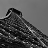 Sweeping Angles of The  Eiffel Tower