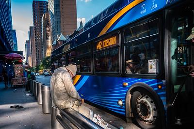 m42 Crosstown Bus, 42nd Street