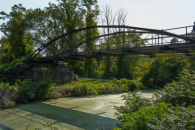 Whipple Iron Truss Bridge, Vischer Ferry Nature and Historic Preserve