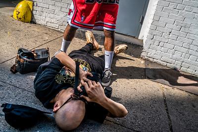 Photo Shoot, West 45th Street