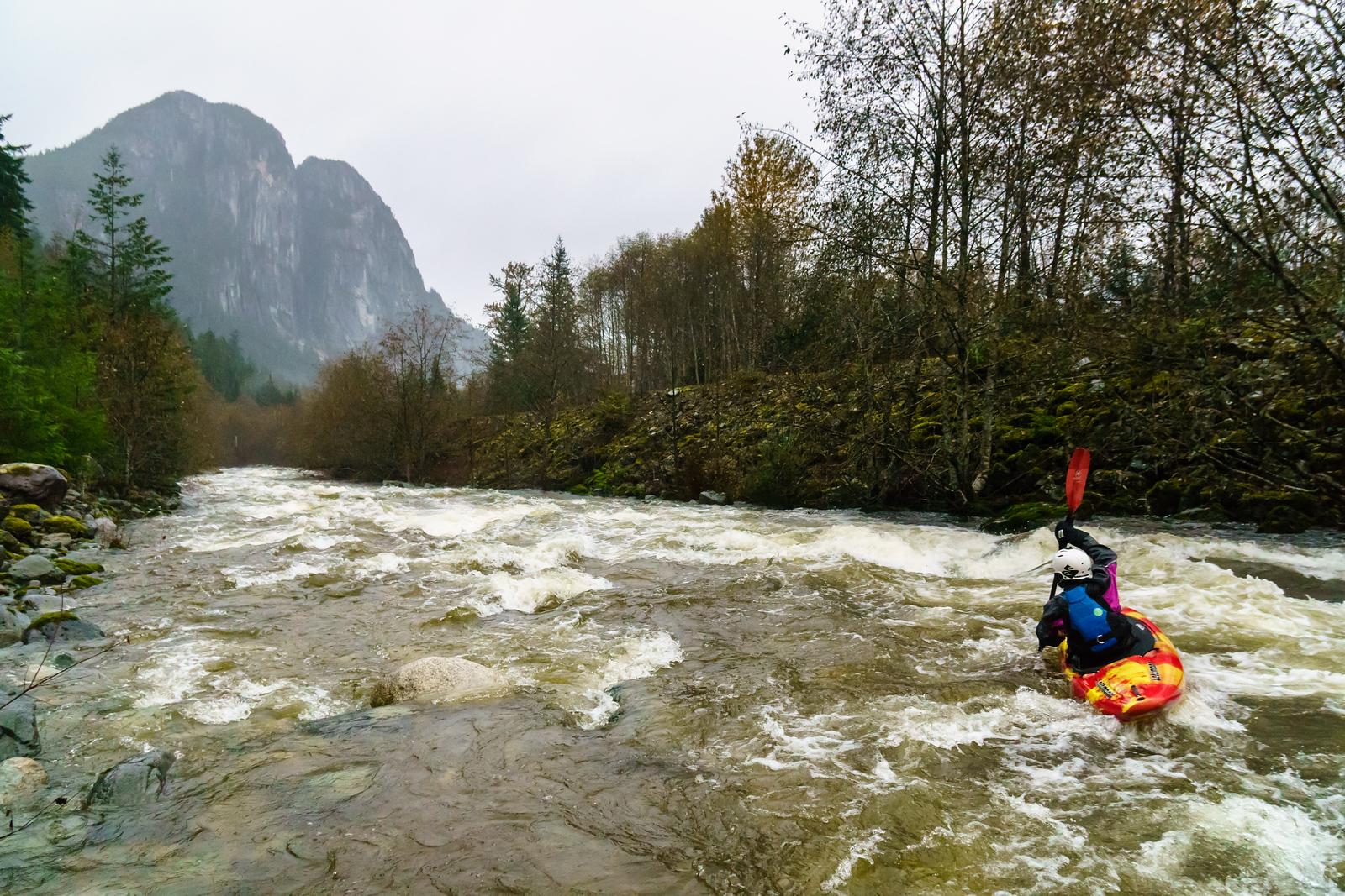 Stawamus Kayaking
