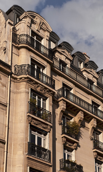 Apartments on Rue de Rivoli