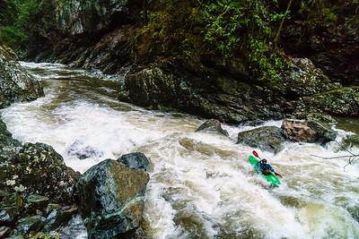 Seymour River Canyon