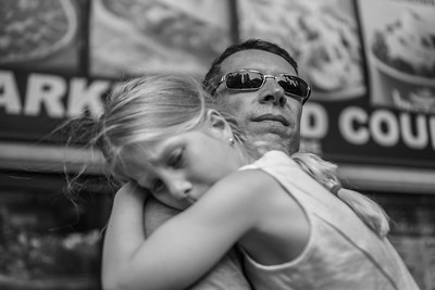 Father and Daughter, Ninth Avenue