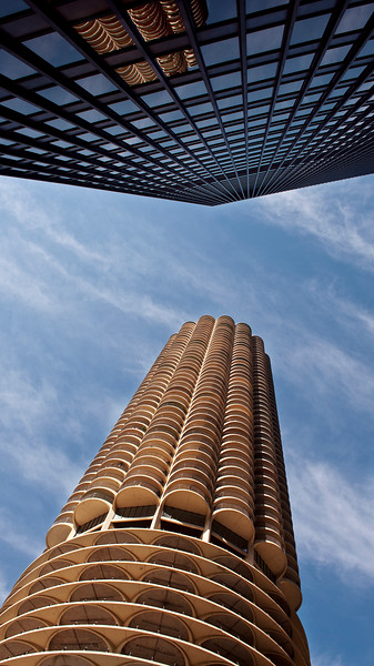 Former IBM Building and Marina City Tower