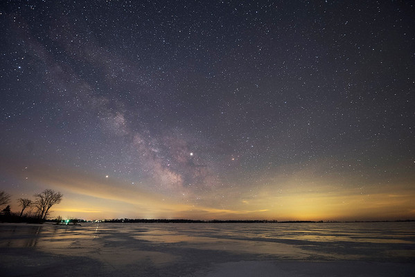 The Summer Milky Way, as seen March 12th, 2019 (in winter)