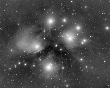 the Heart of the Pleiades (M45)