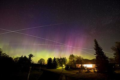 Three ISS passes in one night