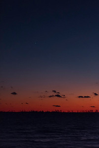 Venus over West Lake