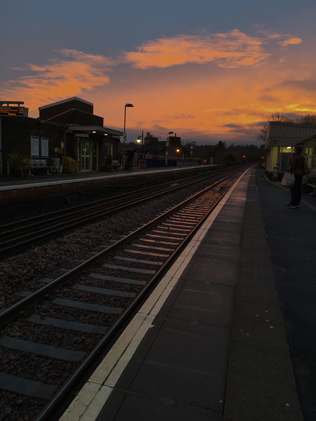 Barrhead Station<br /> 31st January 2017