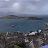 Oban Bay from McCaig's Tower<br /> 10th April 2017