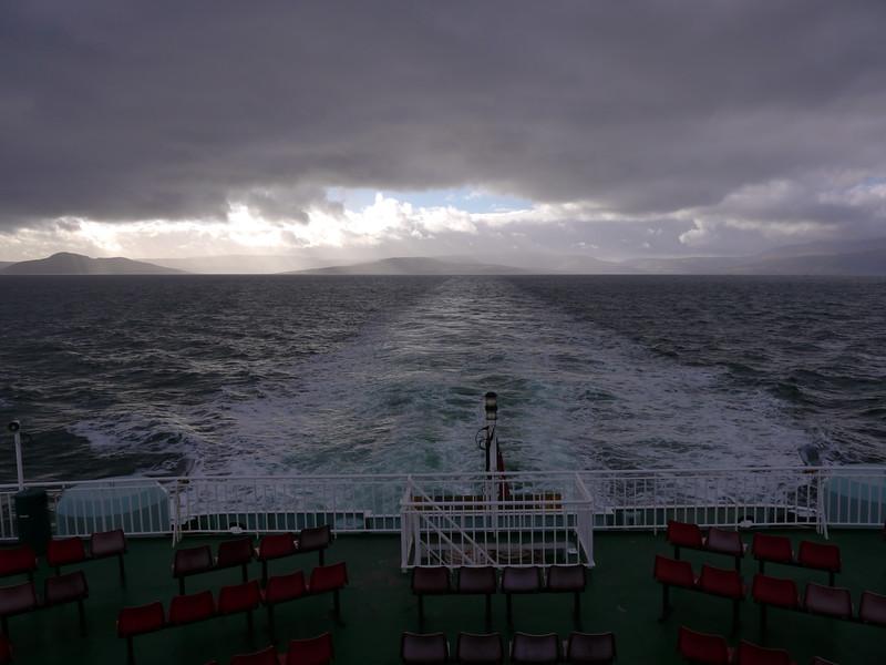 Brodick - Ardrossan ferry<br /> 20th February 2017