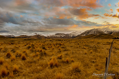 Between Burkes Pass and Tekapo