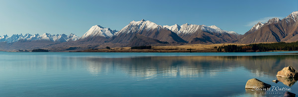 Lake Tekapo Mountain Panorama